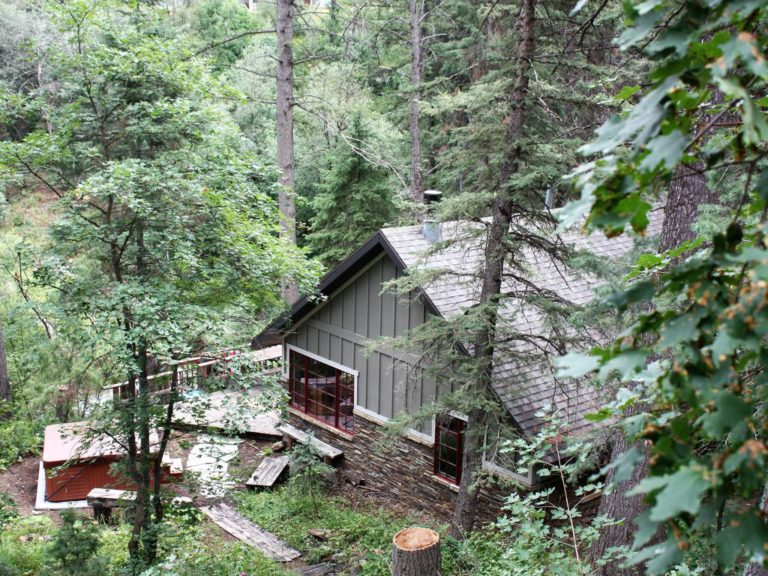 Mountain Cabins Utah - Hideaway Above The Stream - Sundance, Utah
