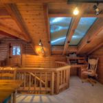 Log Cabin on The Stream vacation rental home in Sundance, Utah