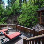 Log Cabin on The Stream vacation rental home in Sundance, Utah