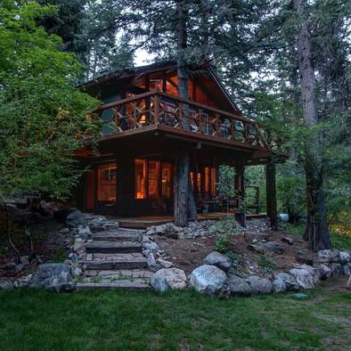 Treehouse on The Stream in Sundance, UT by Mountain Cabins Utah nightly vacation rentals