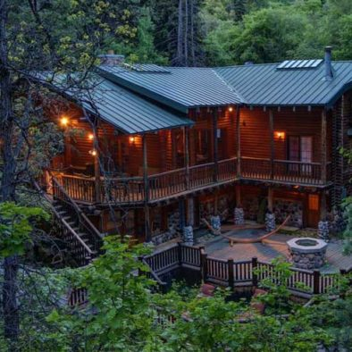 Log Cabin Vacation Rental in Sundance, Utah