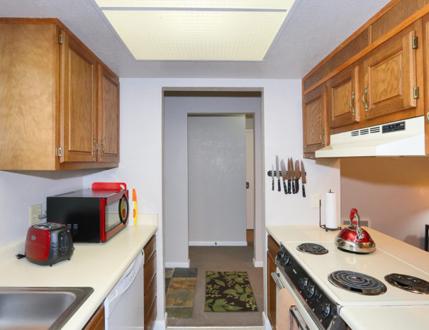 Kitchen - Luxury Mountain Condos in Eagle Point Ski Resort - Beaver, Utah