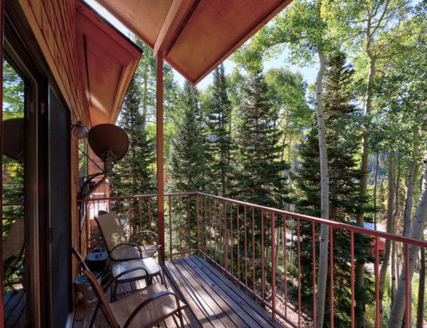 Back Deck - Luxury Mountain Condos in Eagle Point Ski Resort - Beaver, Utah