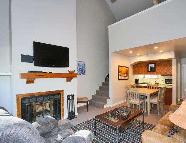 Living Room - Luxury Mountain Condos in Eagle Point Ski Resort - Beaver, Utah