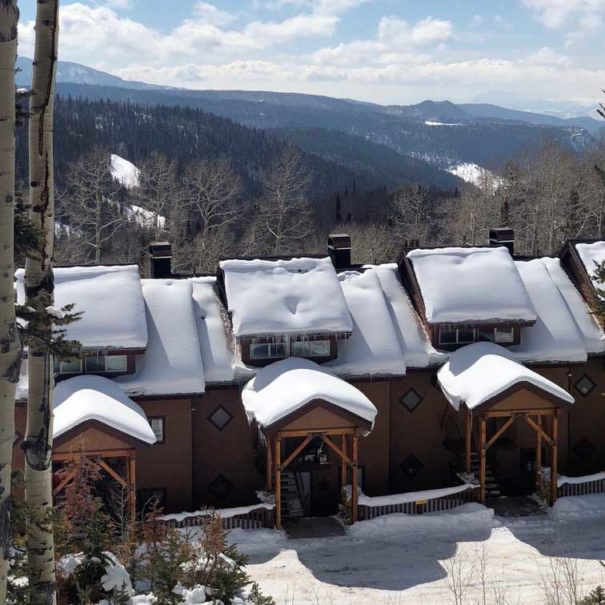 Wooded Ridge No8 ski-in/ski-out condo in Eagle Point Ski Resort - Beaver, Utah