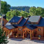 Wooded Ridge number 10 ski-in/ski-out condo in Eagle Point Ski Resort - Beaver, Utah