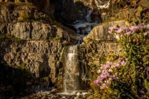 Stewart Falls hike from Mountain Cabins Utah near Sundance Mountain Resort